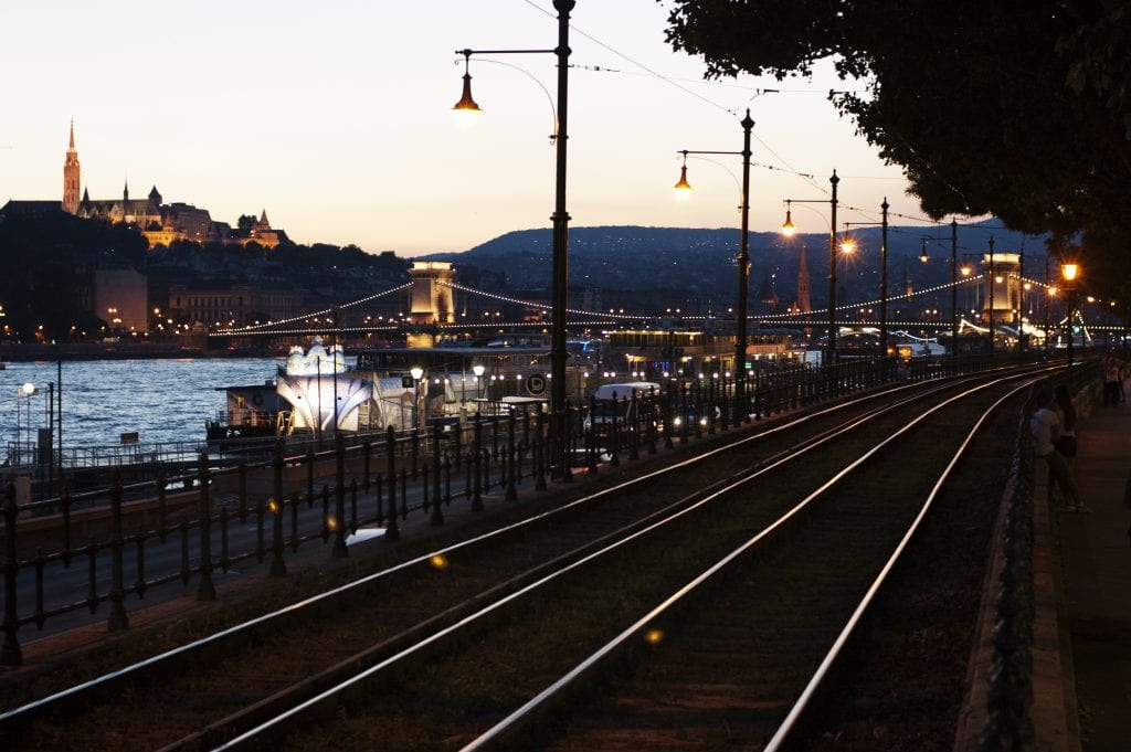 Avondwandeling Budapest langs de donau