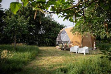 B&B gelderland met tent