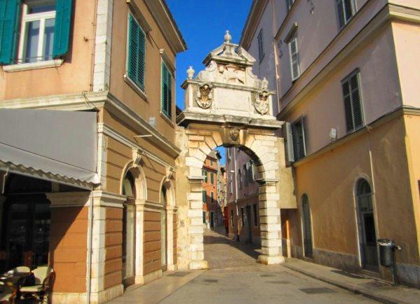 Babli Arch kroatie istrie