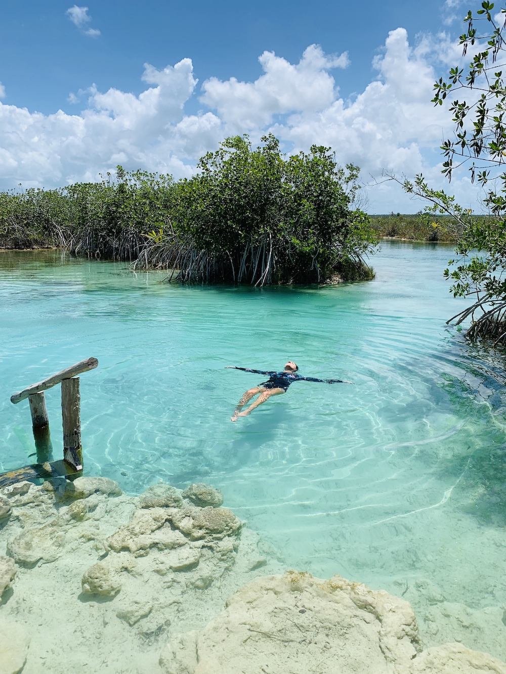 Bacalar Meer Mexico Quintana Roo