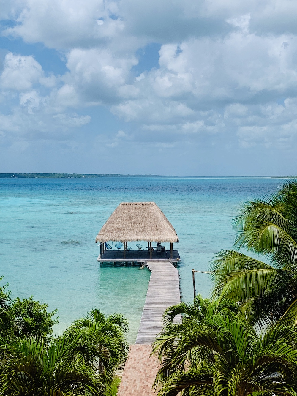 Bacalar meer in Mexico