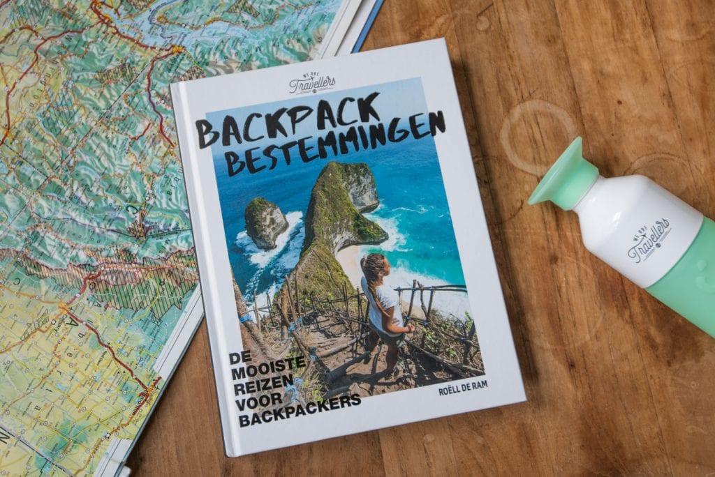 Backpack Bestemmingen Boek cadeau