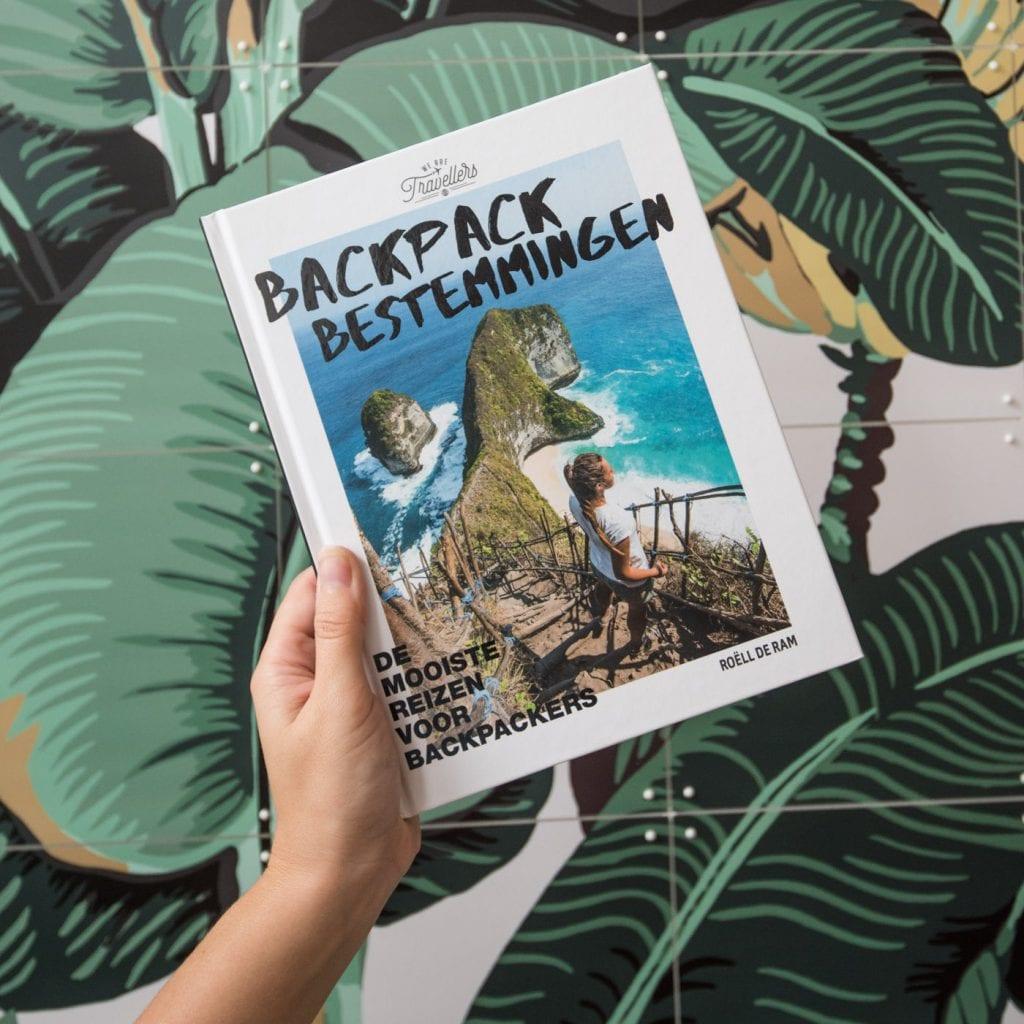 valentijnscadeau idee Backpack Bestemmingen Boek cadeau reiziger
