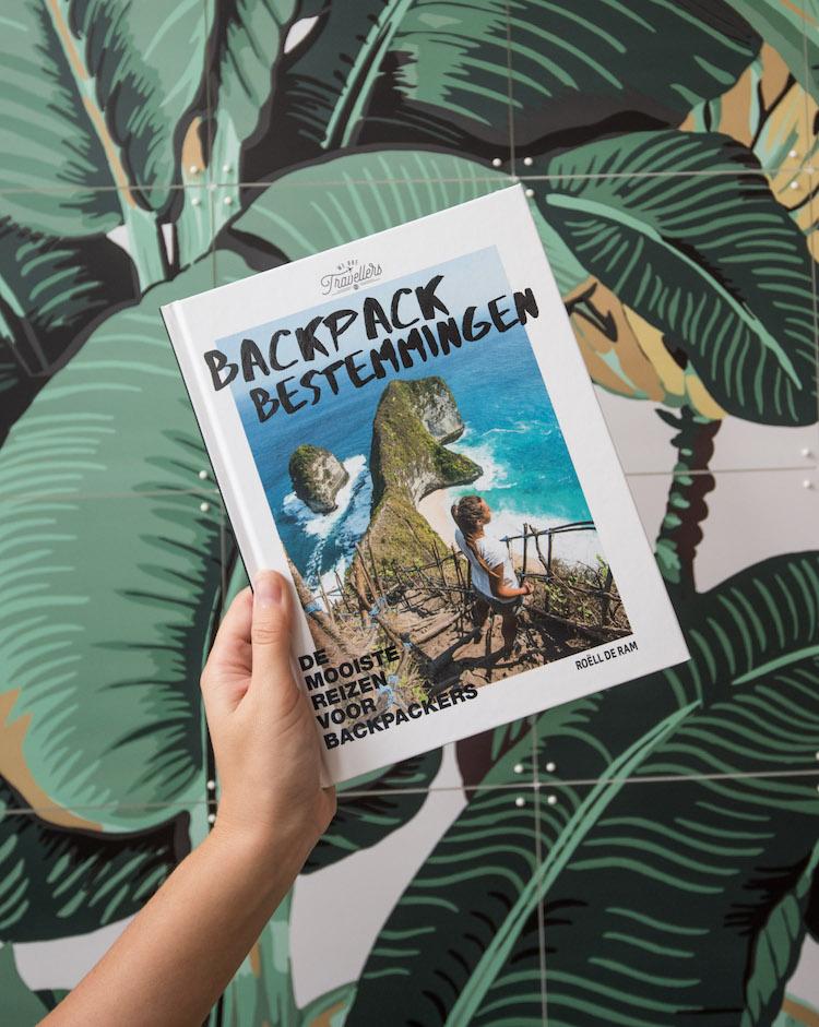 Backpack Bestemmingen Boek winactie