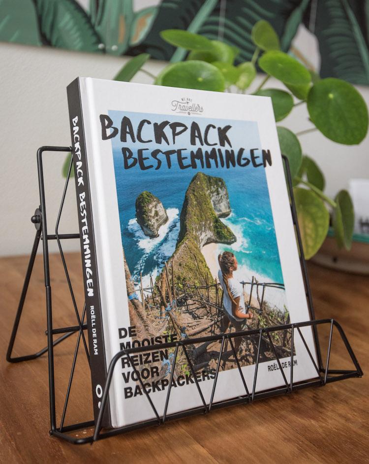 Backpack Bestemmingen Boek winnen vliegtickets