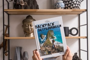 Backpack Bestemmingen boek backpackers