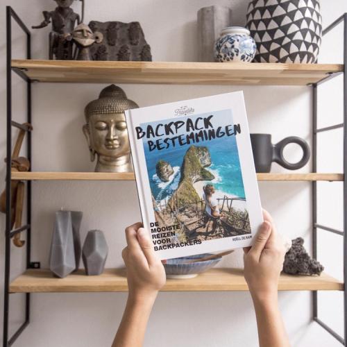 Backpack Bestemmingen boek reisboek musthave