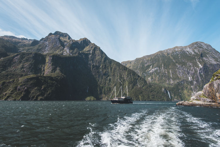 Backpack Route Nieuw Zeeland Zuidereiland Milford Sound