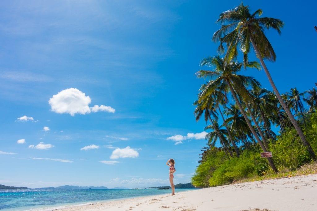 Backpack route Filipijnen Palawan