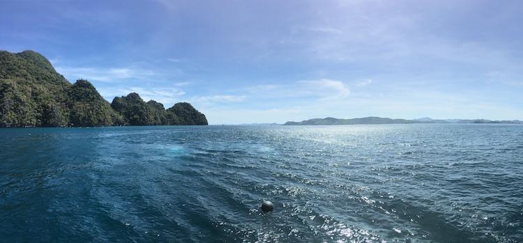 Backpack route Filipijnen bergen zee eilandjes