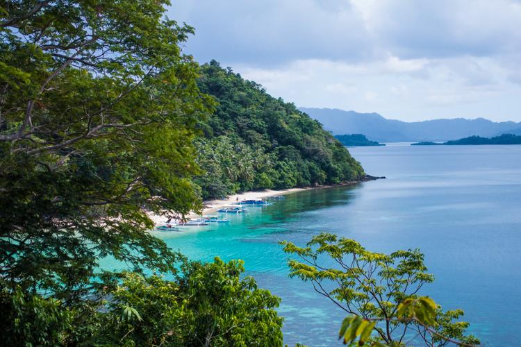 Backpack route filipijnen Port Barton-1