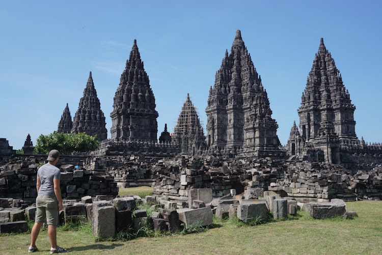 Backpacken Azie of Zuid-Amerika Prambanan