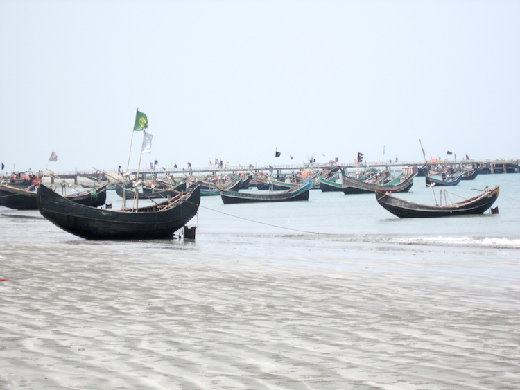 Backpacken Bangladesh st martin island
