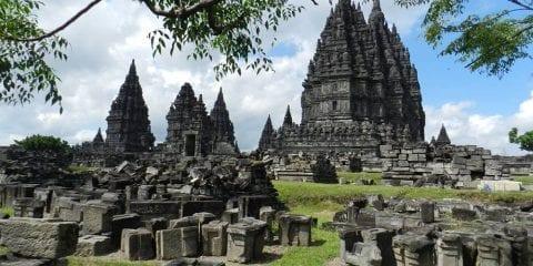 Backpacken Indonesie alleen tempels