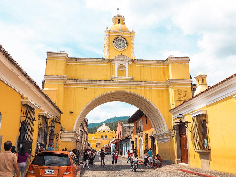 Backpacken Midden Amerika Antigua Guatemala