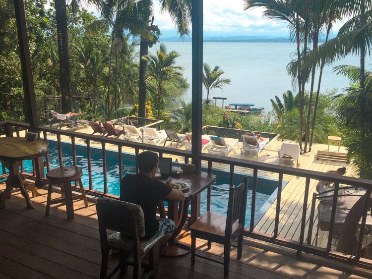 Backpacken Panama Bambuda Lodge-2