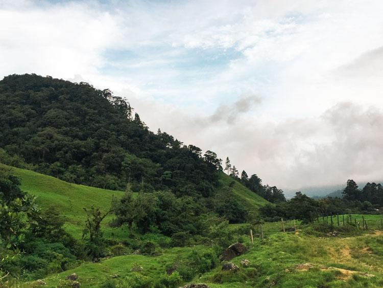 Backpacken Panama Pianista trail