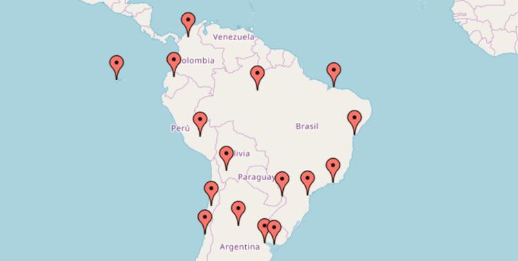 Backpacken Zuid Amerika landen