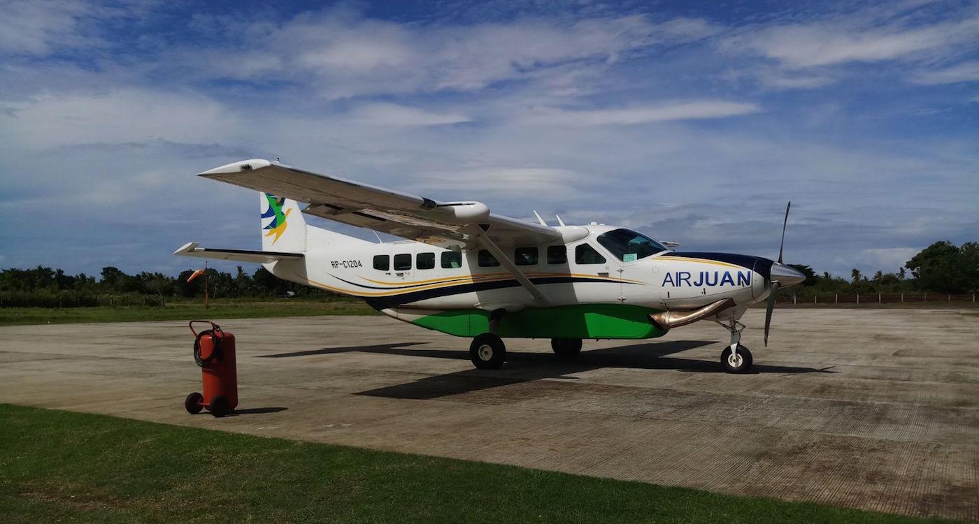 Backpacken filipijnen vliegen domestic flight