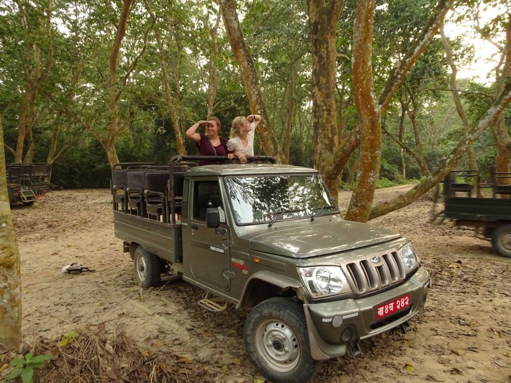 Backpacken noord azie safari