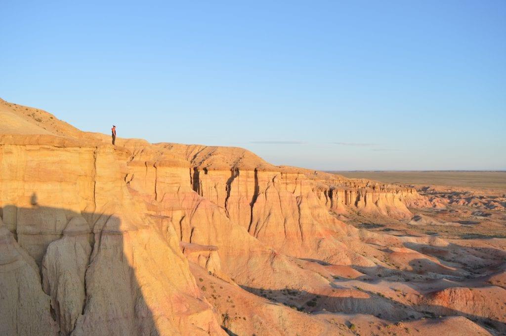 Backpacken noord azie woestijn