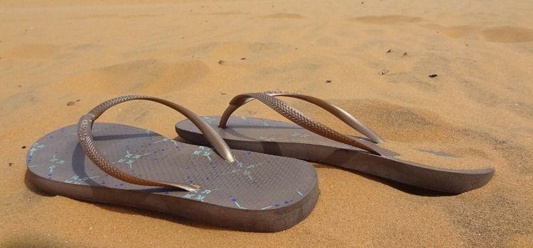 Backpacken schoenen slippers