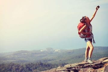 Backpacker individuele rondreis