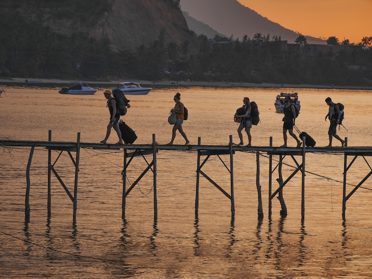 Backpackers koh samui thailand tips