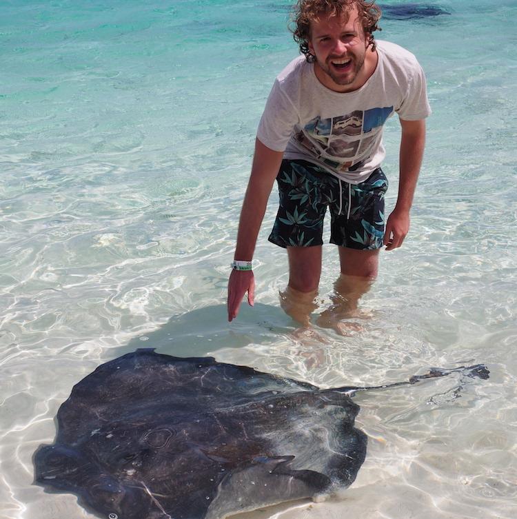 Bahamas stingray exumas