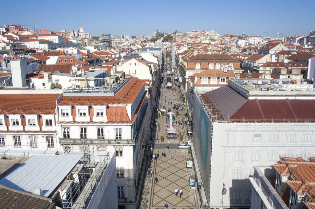 Baixa leuskte wijken in lissabon