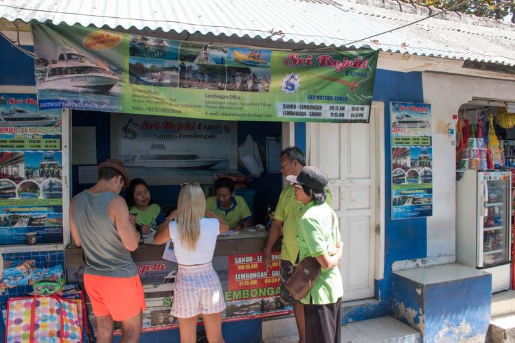 Bali naar Nusa Penida fast boat