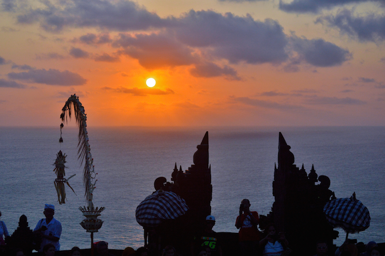 Bali_zonsondergang