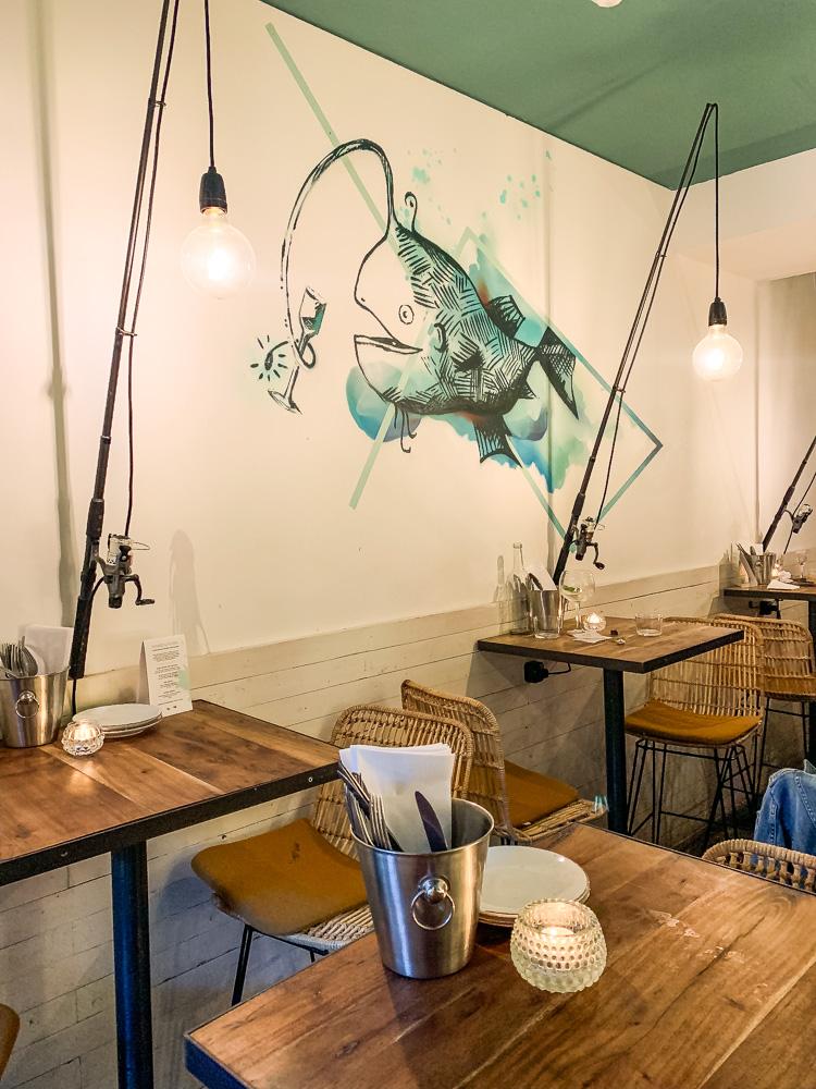 Bar Fisk interieur