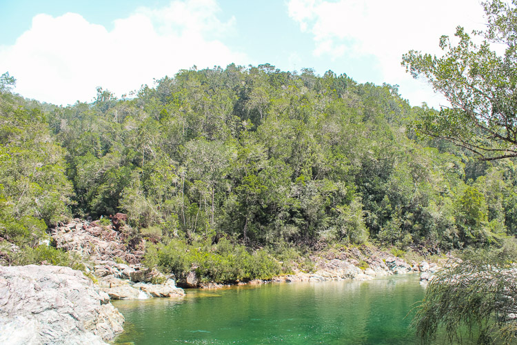 Baracoa in Cuba Duaba river-3
