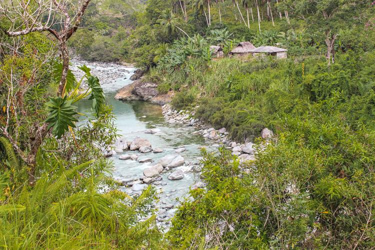 Baracoa in Cuba Duaba river