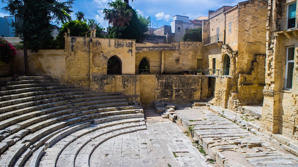 Bari italie amfitheater piazza
