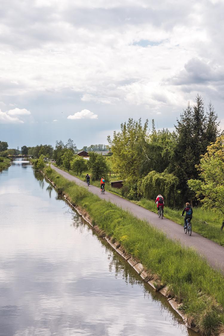 Bata kanaal in Moravie