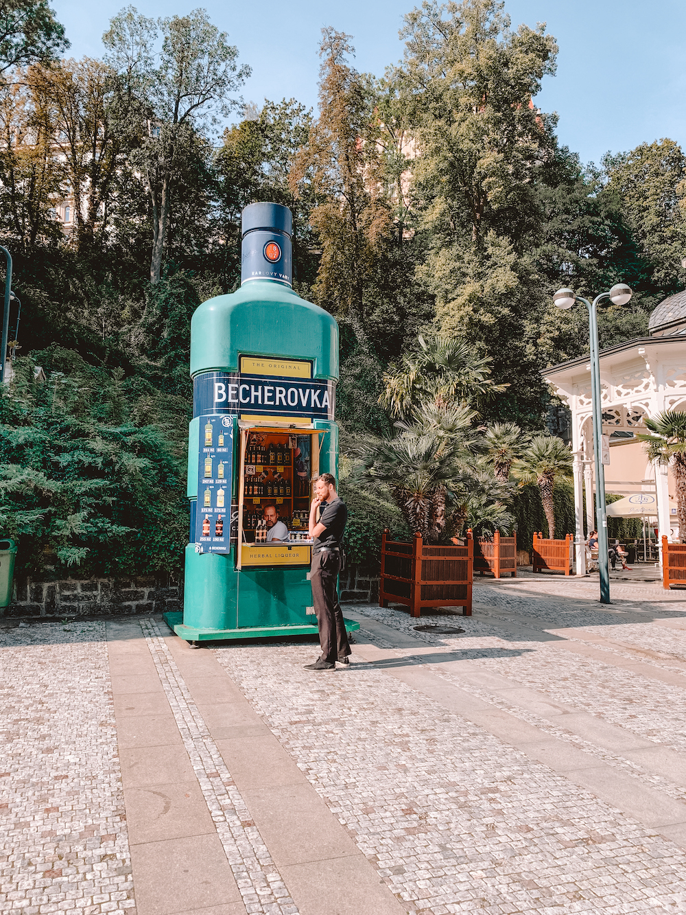 Becherovka, het drankje in Karlovy Vary