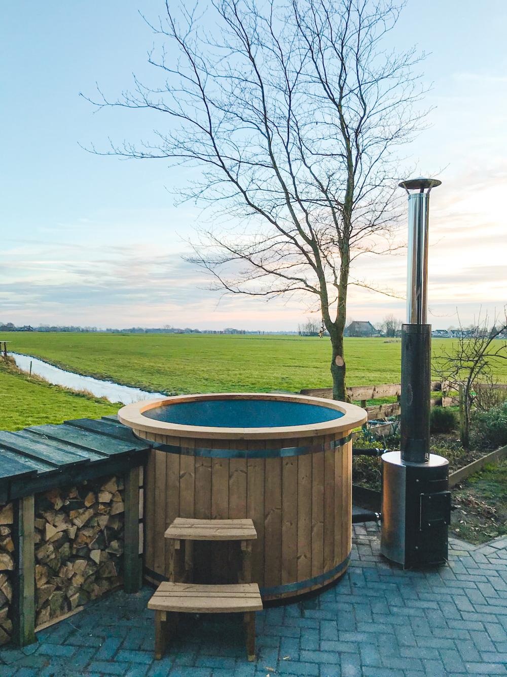 Bed and Breakfast friesland met hot tub