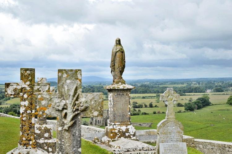 Begraafplaats Cashel ruines ierland