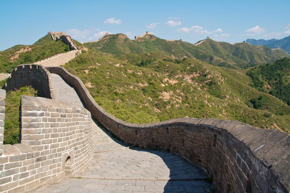 Beijing Chinese muur