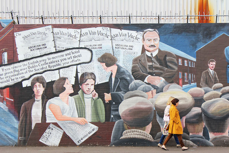 Belfast hotspots cityguide Murals