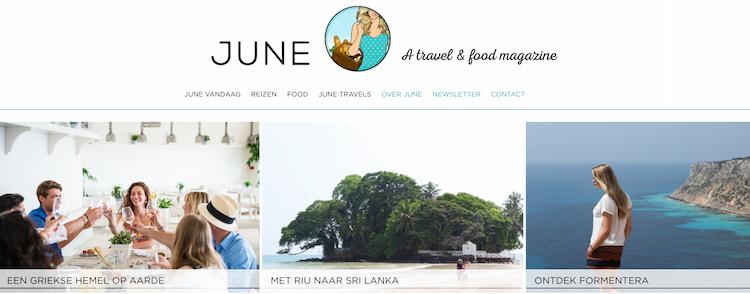 Belgische reisblogs June.be