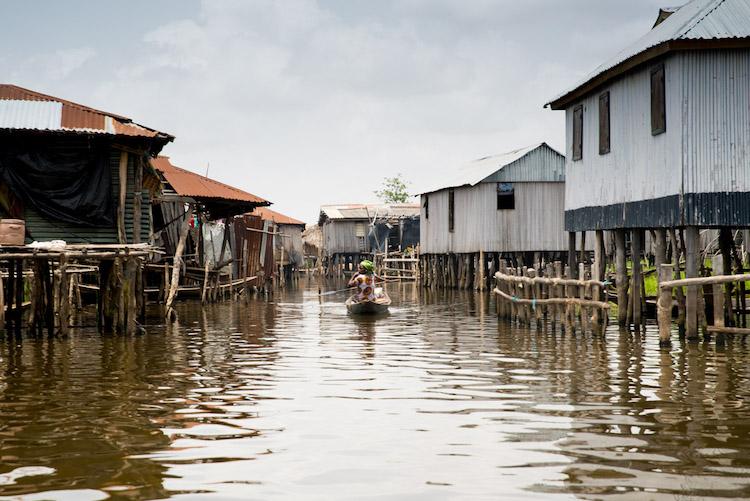 Benin Afrika Ganvie reis naar Benin (Riske)