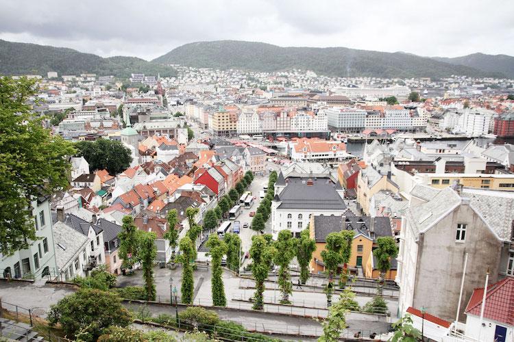 Bergen roadtrip noorwegen zuiden