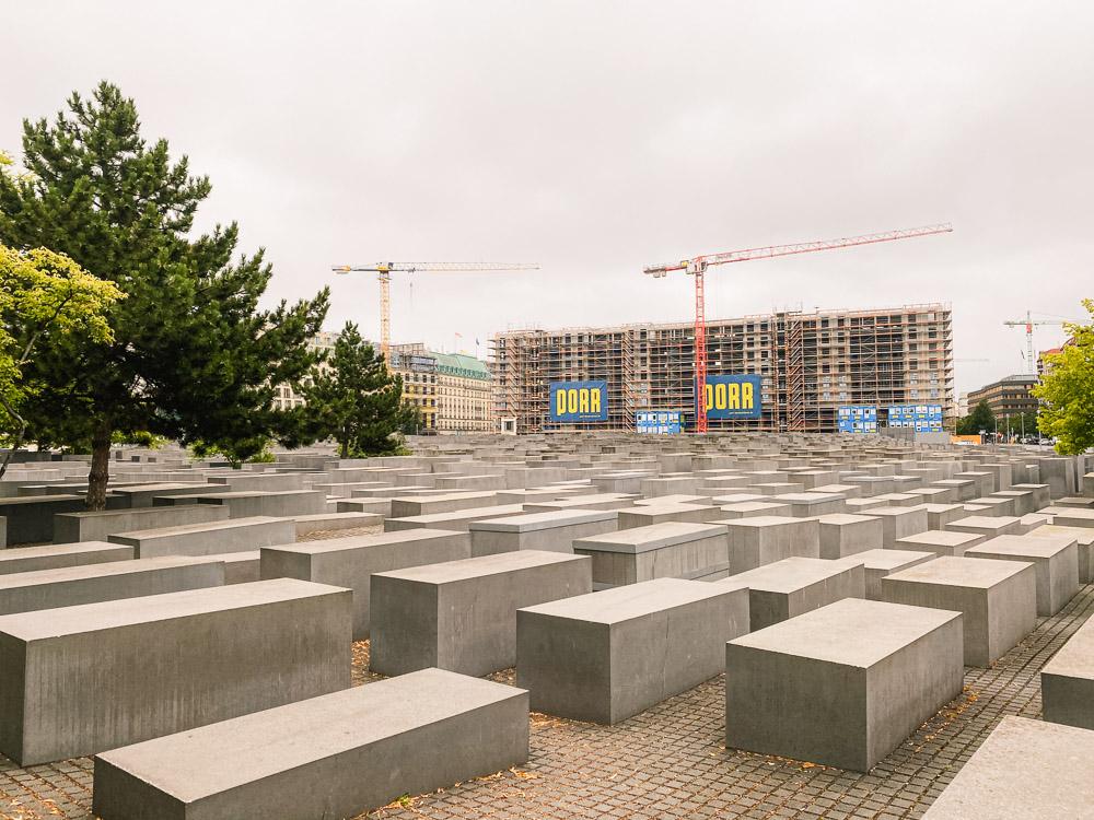 Berlijn holocaust monument