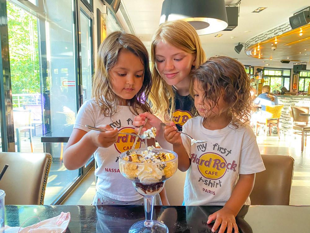 Berlijn met kinderen uit eten hard rock cafe