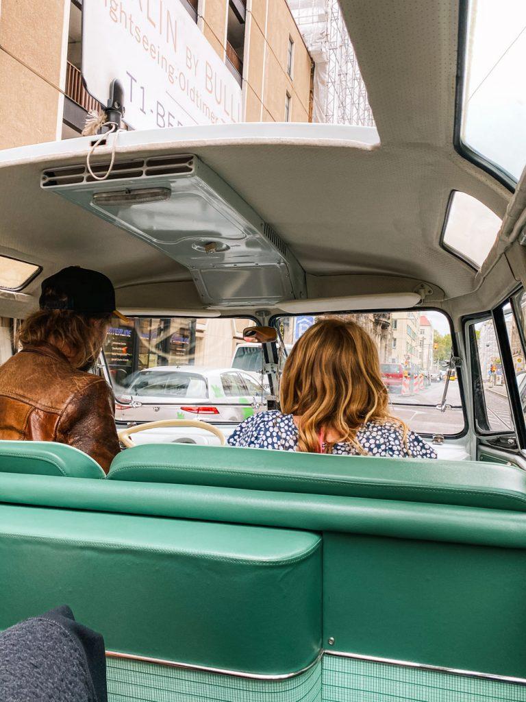 Berlijn volkswagen busje tour