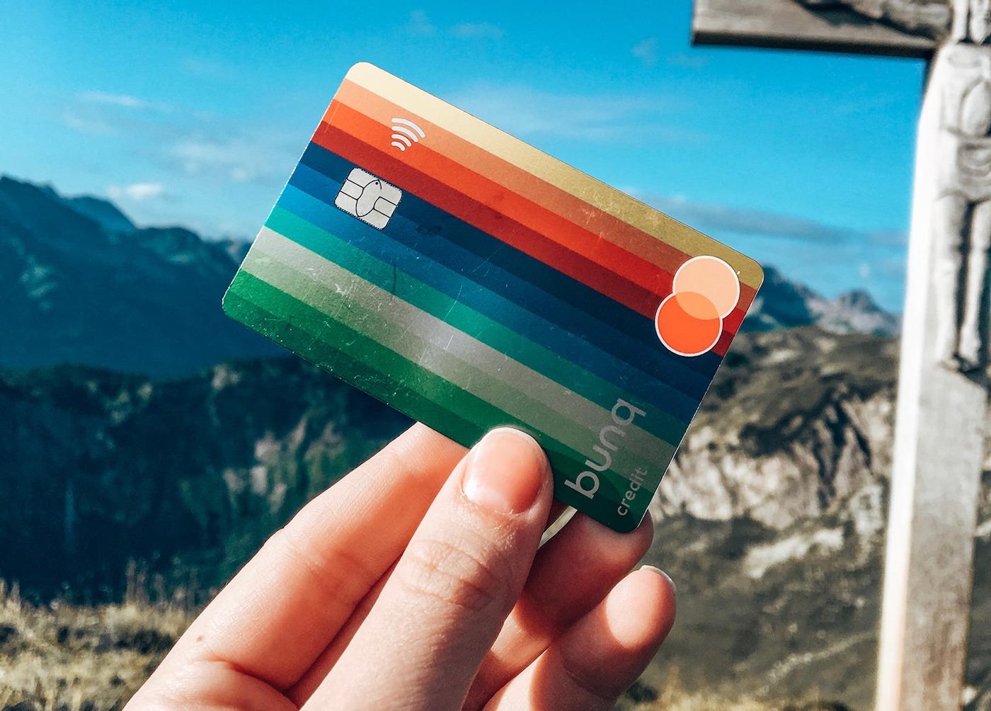 Beste creditcard voor reizen Bunq Travel Card