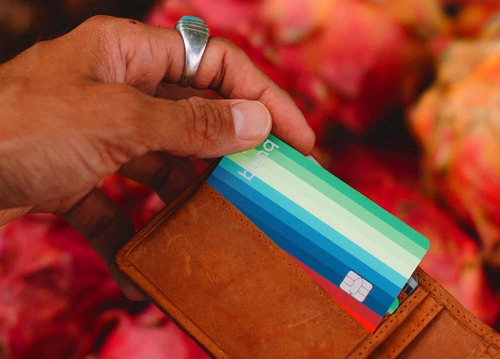 Beste creditcard voor reizen Bunq card